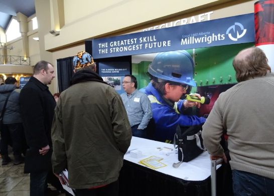 Millwrights booth