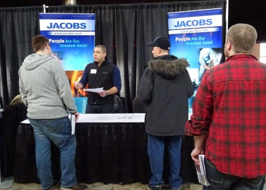 Jacobs booth