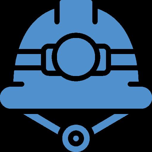 blue helmet