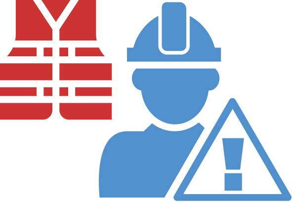 blue avatar and red safety vest